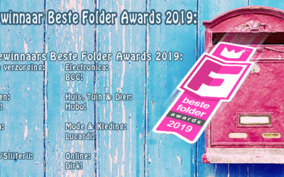 Winnaars 'Beste Folder Awards 2019' bekend!